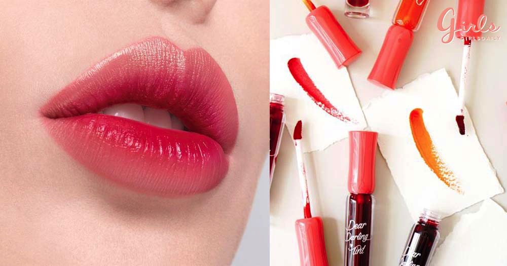 Top 6 Colourful Lip Tints That Will NOT Dry Out Your Lips