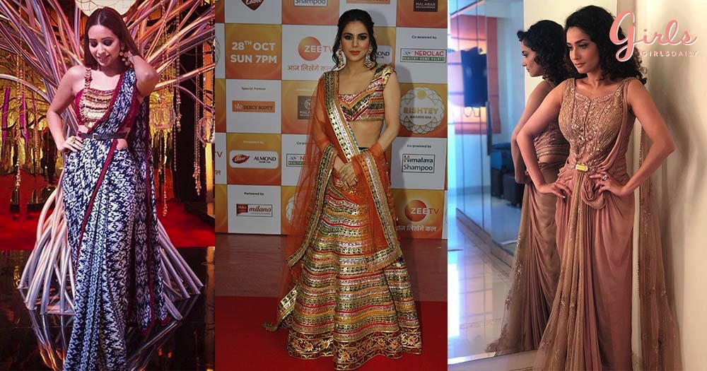 Glamorous TV Stars Jazz Up The Red Carpet of Zee Rishtey Awards'18