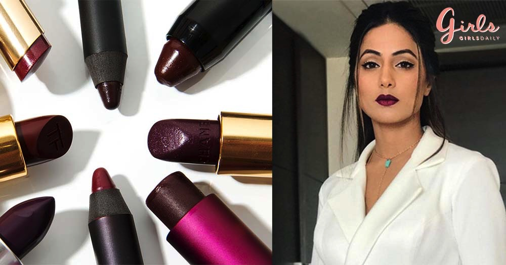 7 Affordable Dark Lipsticks For This Winter Season!!