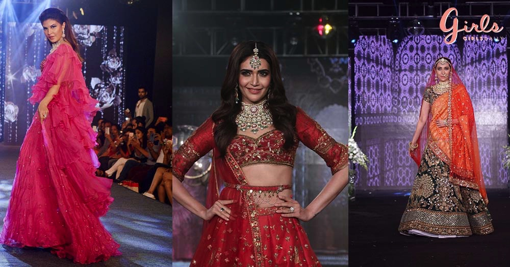 B-Town Celebs Glam The Ramp With Perfect WEDDING WEARABLE Looks!