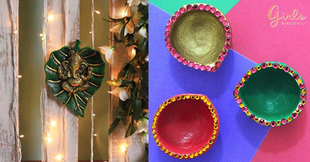 7 Affordable Last Minute Ideas To Do Awesome Diwali Decoration At Home!