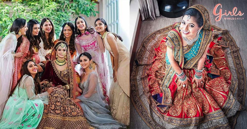 Brides & Bridesmaid Poses For Wedding Photoshoot!!