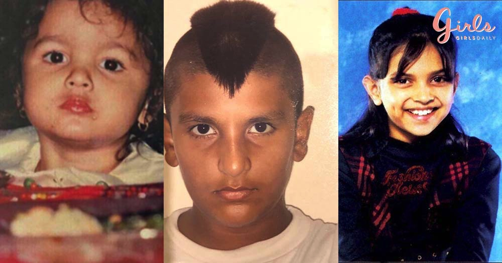 Celebrating Children's Day With 21 Cute Childhood Photos Of Popular Celebs!