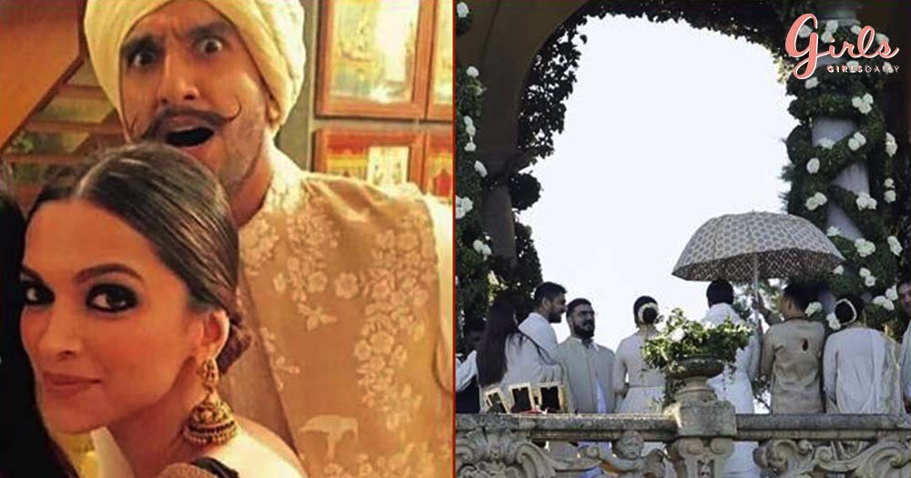 First Pictures Of Deepika & Ranveer's Fairy Tale Wedding In Italy!