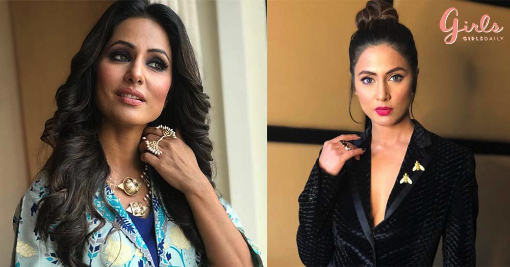 7 Lipstick Shades That Hina Khan Loves To Wear For Luscious Lips