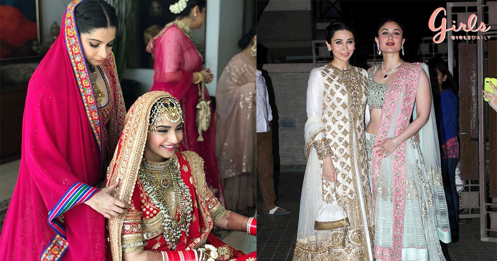 21  Bride & Sister Poses For Wedding Photoshoots