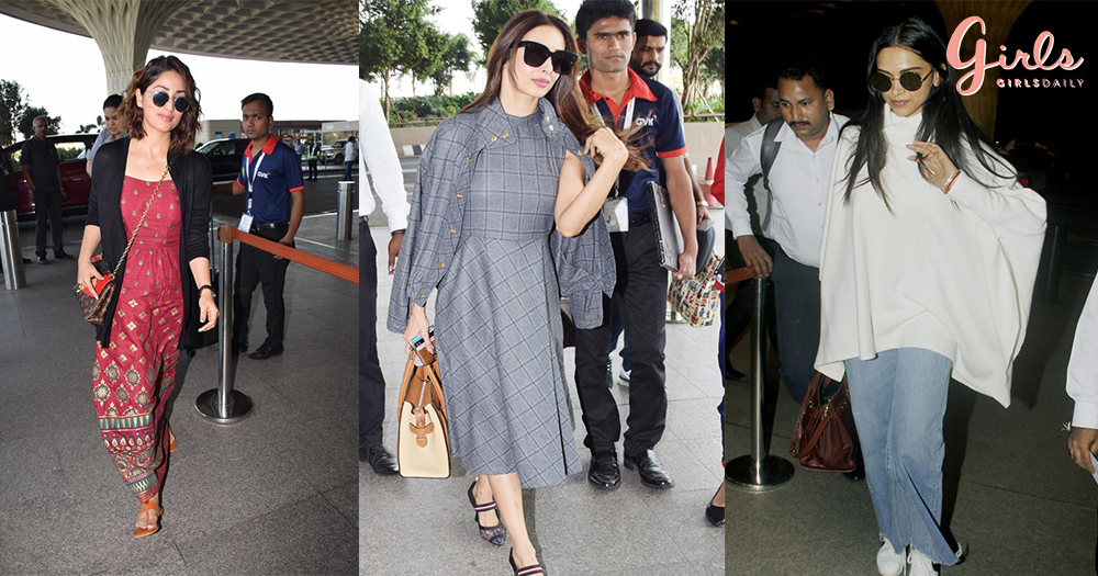 Runways To Airways- B-Town Celeb's Fashionable Airport Diaries
