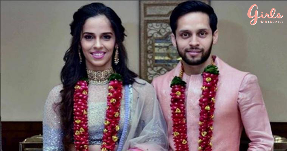 Badminton Players Saina Nehwal & Parupalli Kashyap Are Now MARRIED!