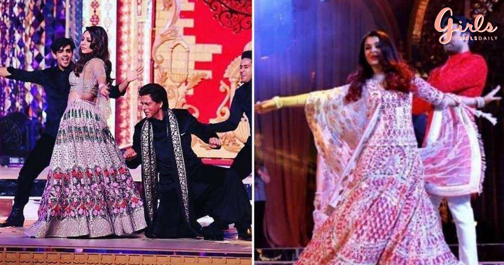 Here Are All The Photos & Videos From Isha Ambani's Sangeet Ceremony!