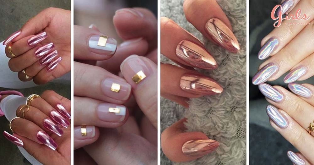 11 Chrome Nail Art Ideas That Prove They Are The Biggest Manicure Trend RN!