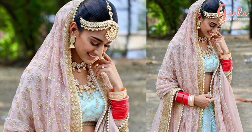 Prerna's Bridal Avatar In *Blue* From Kasautii Zindagii Kay Is Wedding Outfit Goals For 2019!