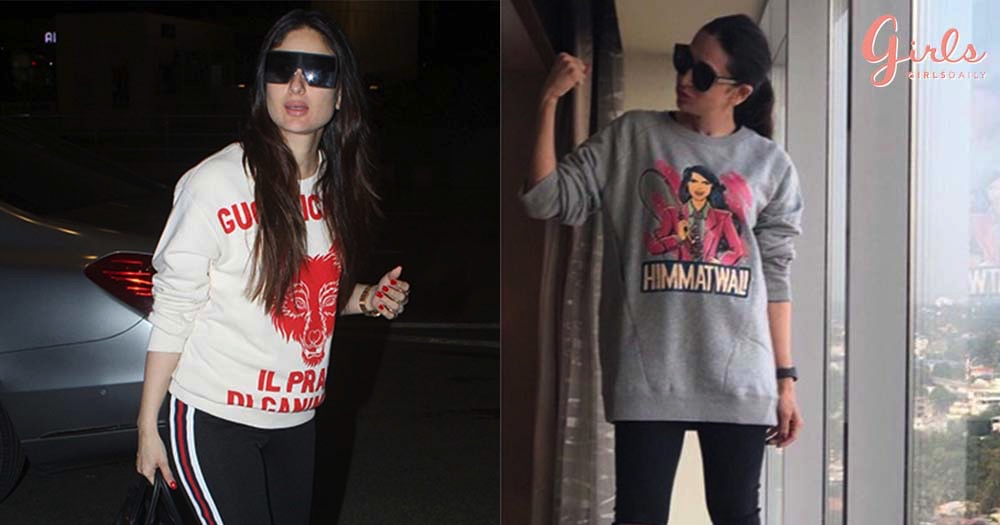 10 Celebrity-Approved Fancy Sweatshirts Every Girl Should Own In Her Life