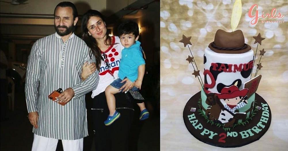 Kareena & Saif Threw A Pre-Birthday Bash For Their Little Prince Taimur Ali Khan
