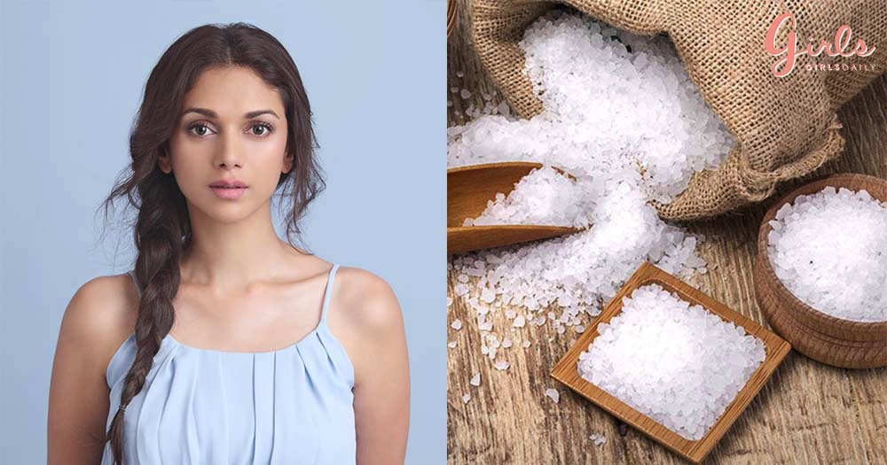 6 Clever Uses Of Salt For Soft Skin & Glossy Hair!!