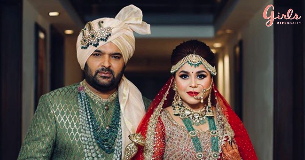 Comedy King Kapil Sharma & Girlfriend Ginni Chatrath Are Officially Man & Wife Now!