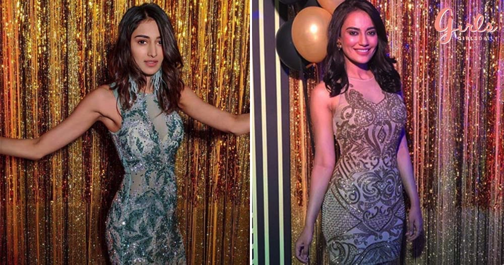 "Surbhi Jyoti & Erica Fernandez Gives Us Major ""Western"", Sangeet Outfit Goals!!"