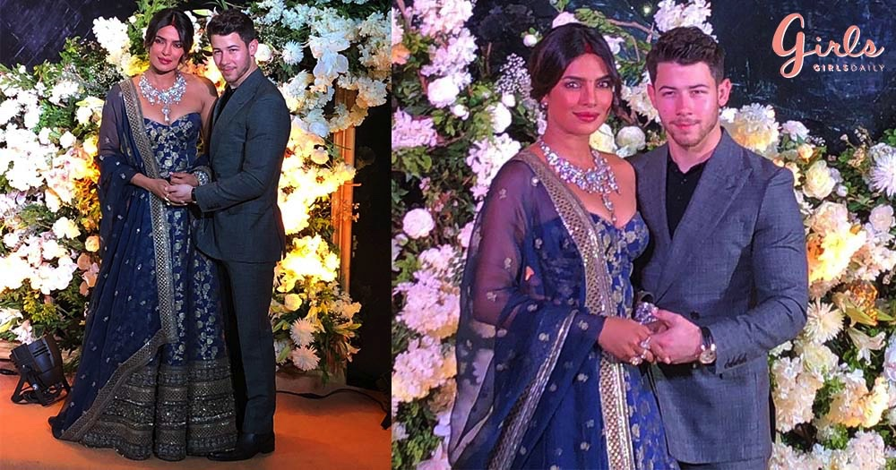 The First Look Of Nick & Priyanka's Mumbai Reception Is Here & The Couple Is Making Us Heart Eyed