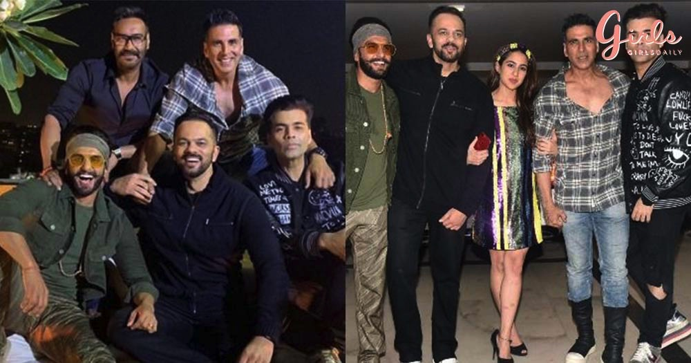 It Was A Crazy Affair At Simmba's Success Bash!!