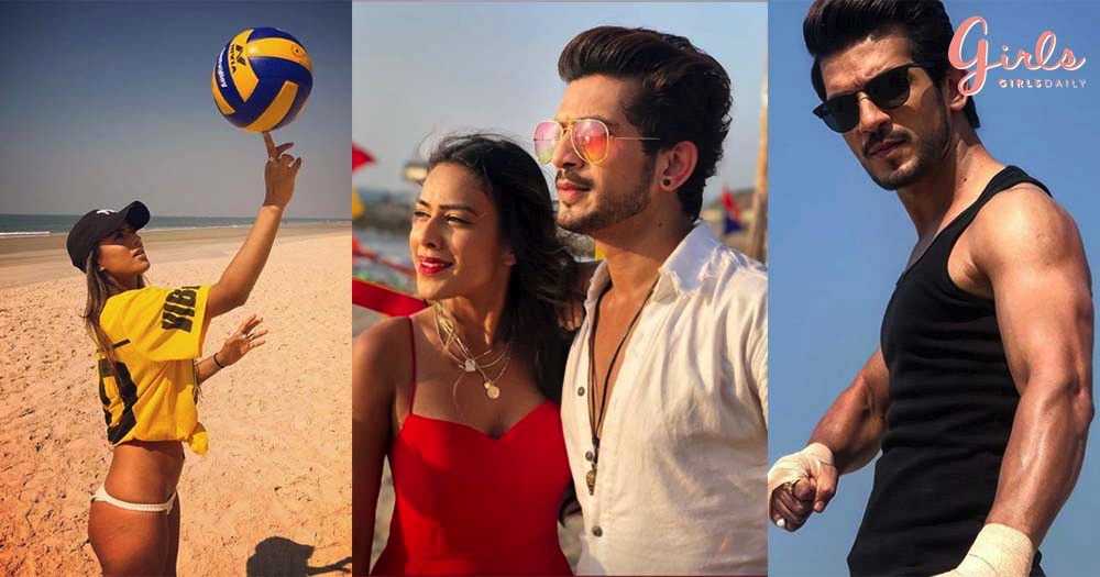 #VacayModeON: Nia Sharma & Arjun Bijlani Are Holidaying Like The Ultimate Hotties In Goa!