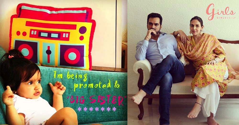 Mom To Be Esha Deol Announces Her Second Pregnancy With This Cute Picture!