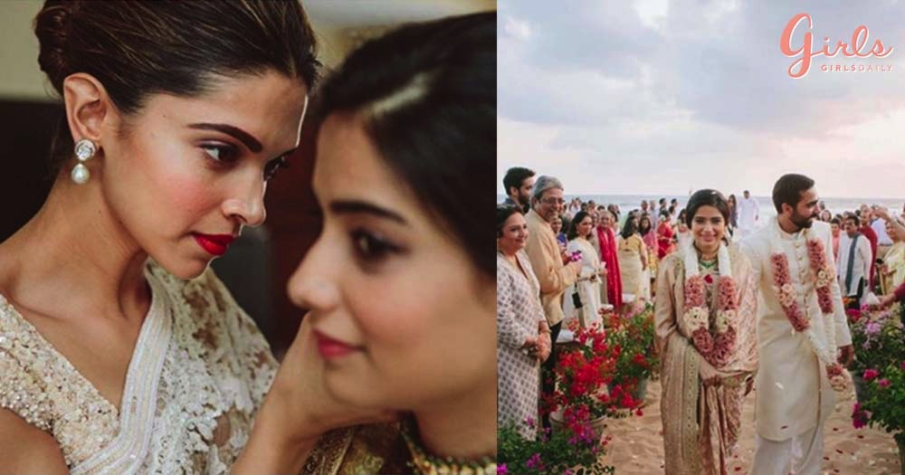 Deepika Padukone Was The Most *Captivating* Bridesmaid For Her BFF's Wedding In Sri Lanka