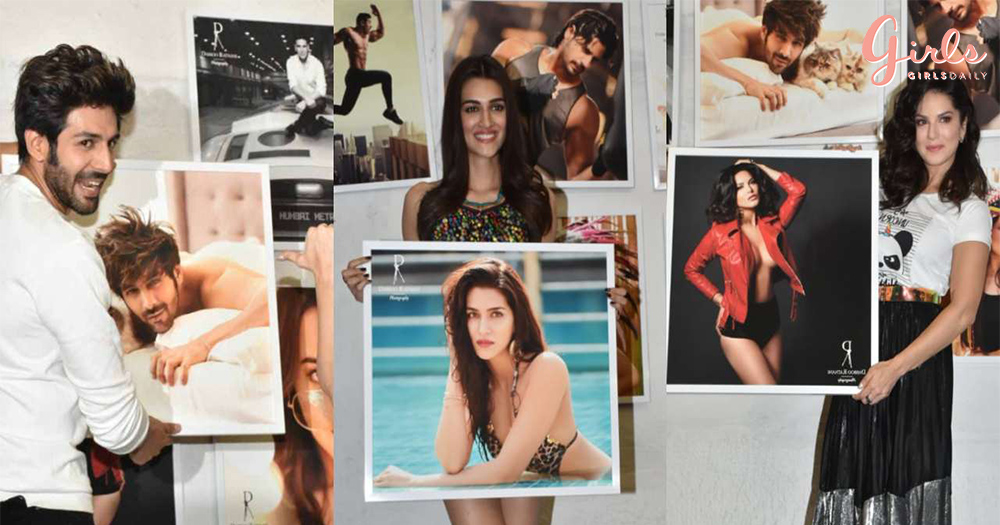 B-Town Celebrities Got Together To Celebrate The Launch Of Dabboo Ratnani Calender 2019