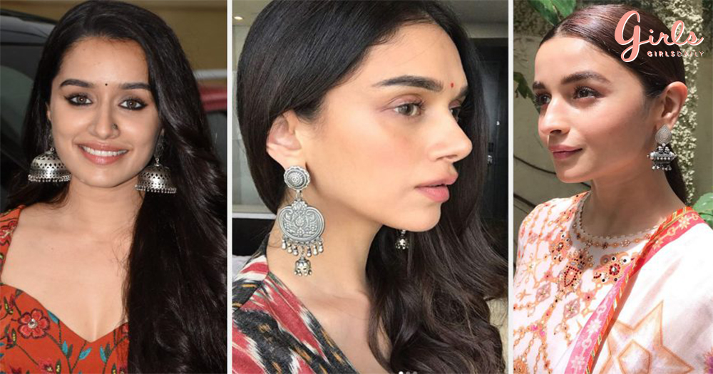 11 Beautiful Silver Jhumkaas That You Must Add To Your Jewellry Collection