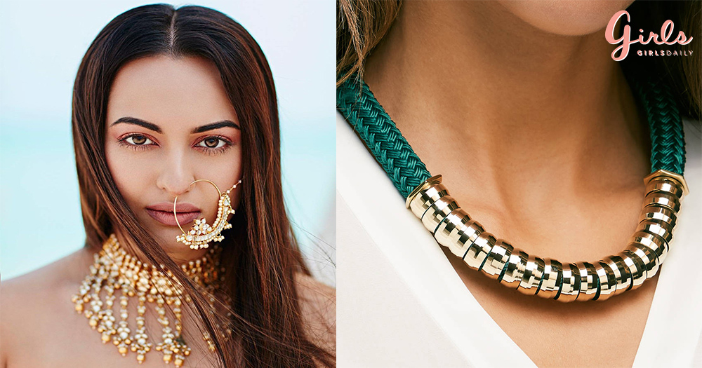 7 Ways To Style & Rock In Statement Necklaces!!