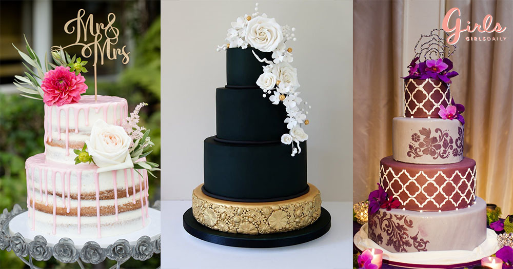 21 Beautiful Wedding Cakes That Can Tempt You To Get One For Your's!!