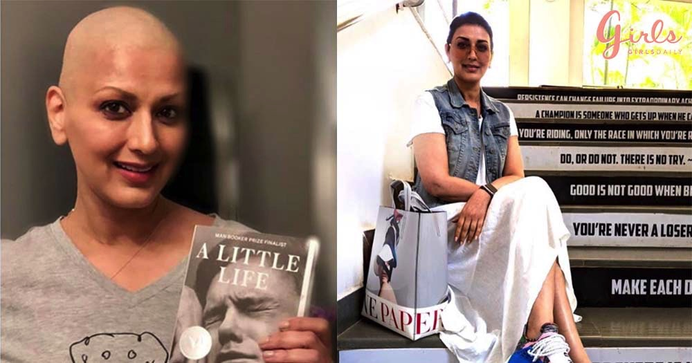 Sonali Bendre Is *Back In Action* At The Sets After Her Cancer Treatment