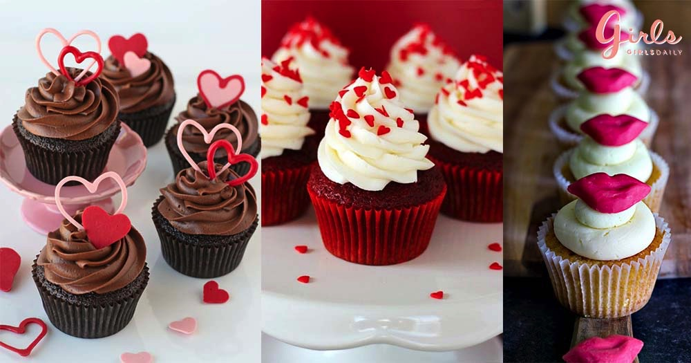 15 Mouth-Watering Valentine's Day Inspired Cupcakes That Will Make You Want To Buy A Few For Your Loved One!!