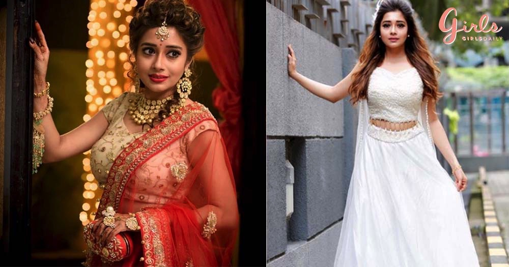 10 Mesmerising Looks Of Actress Tina Datta That Will Give You Major Fashion Goals!!