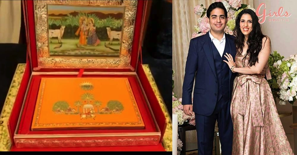 Akash Ambani And Shloka Mehta's Wedding Card Is Here & We Have Never Seen Anything Like This Before!