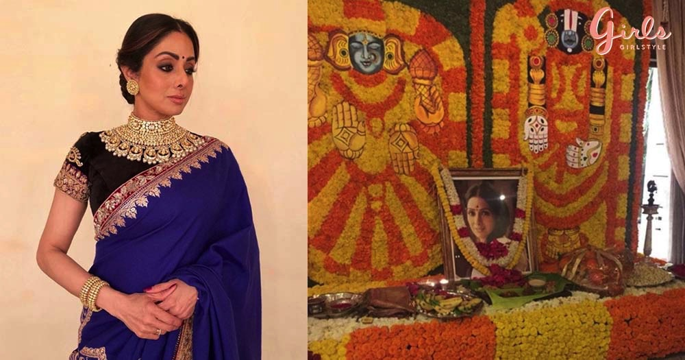 Kapoor Family Remembers Sridevi On Her First Death Anniversary With A Puja