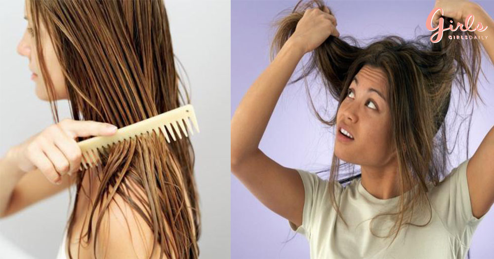 5 Ways To De-Tangle Hair Without Causing Excessive Breakage!!