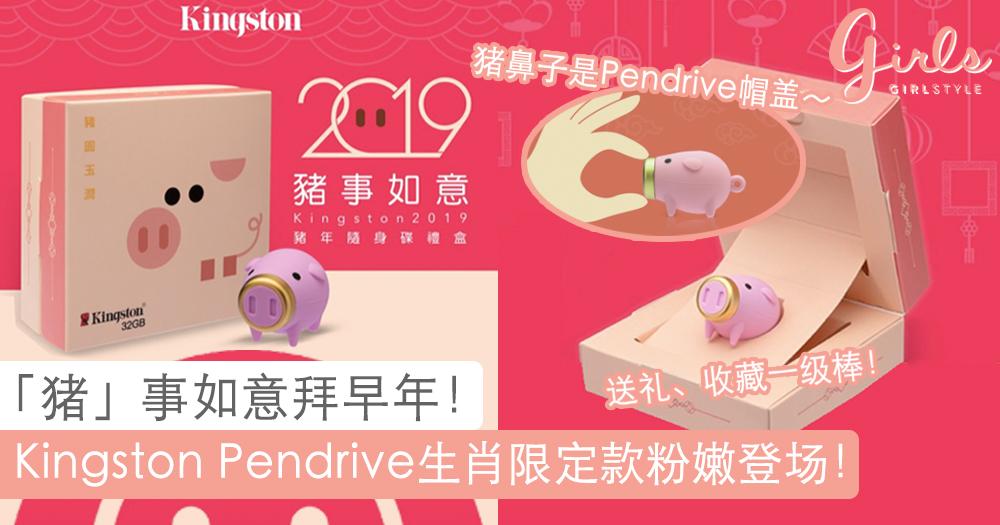 2019年度主角猪猪报道~Kingston限定版生肖Pendrive,祝你「猪」事如意过好年!