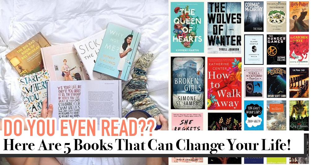 5 Books You Need To Read To Walk In Perfect Confidence