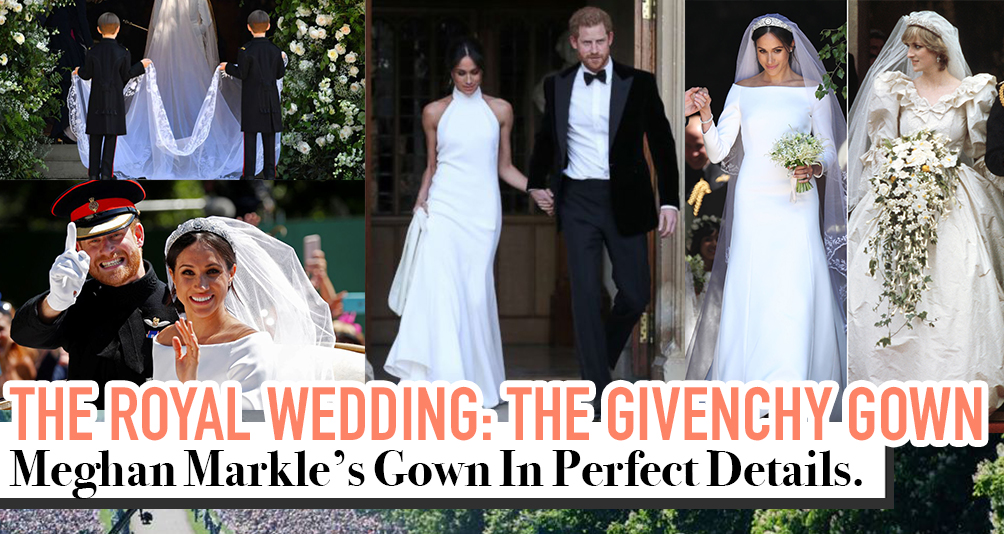 Meghan Markle's Ultimate Wedding Dress Choice: A Full White Givenchy Gown by British Designer Clare Waight Keller
