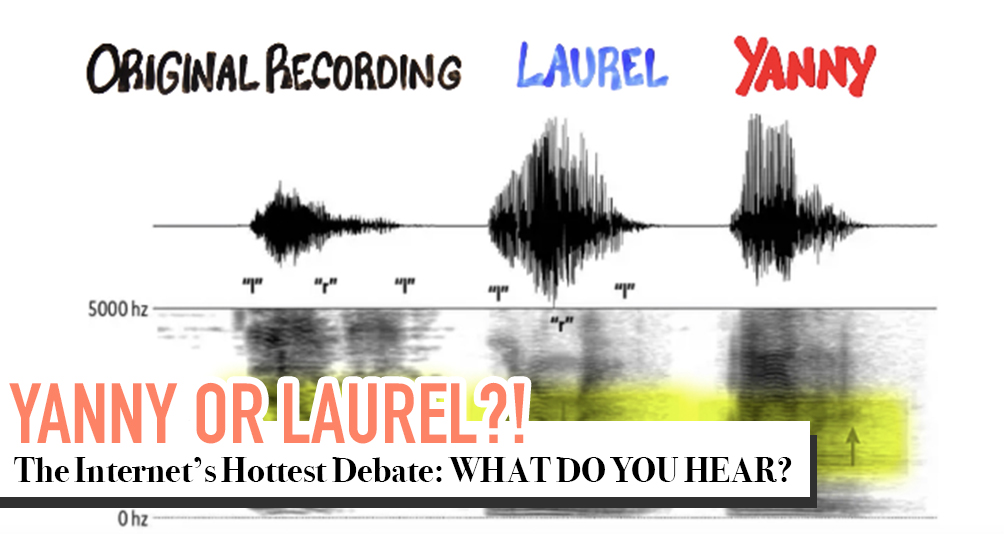 What Do You Hear? YANNY or LAUREL?