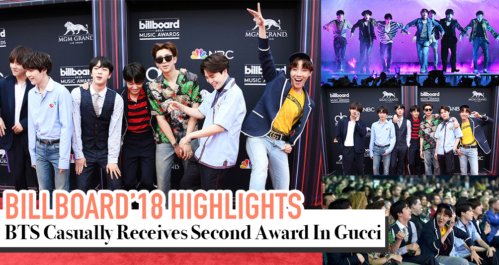 Billboard Music Awards 2018: BTS Casually Wins Top Social Artist Award in Gucci