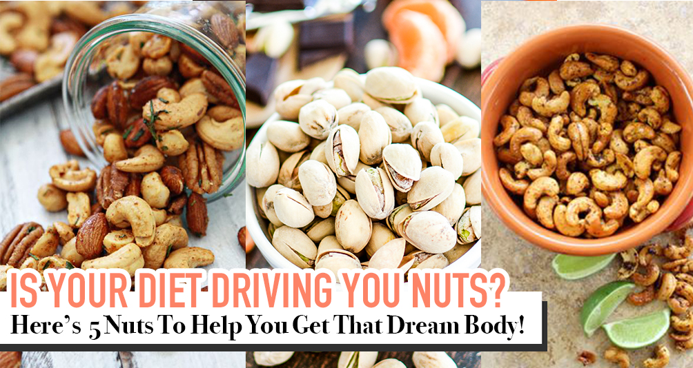 Switch Your Chips For This 5 Nuts And Shake Those Kilos Off!