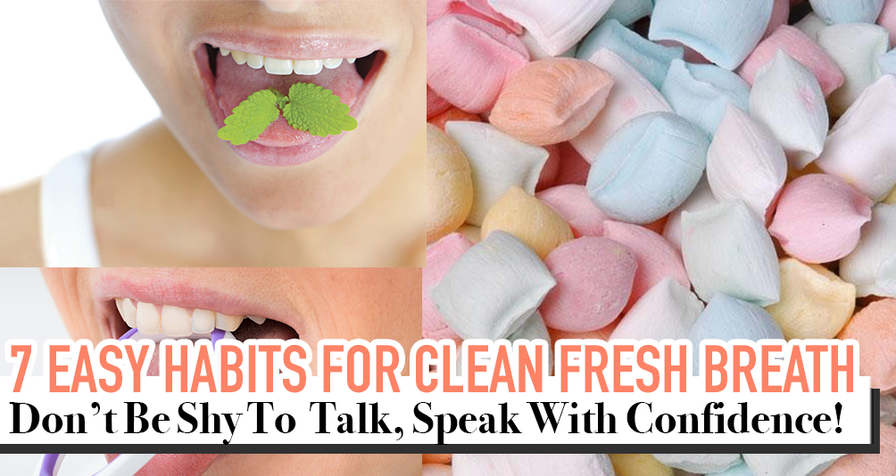 Save Your Face & Avoid The Awkward Bad Breath Talk With These 7 Easy Hacks