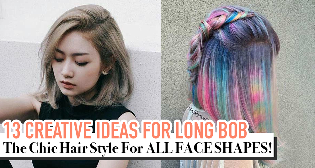 13 Creative Long Bob Hairstyles For A Change!
