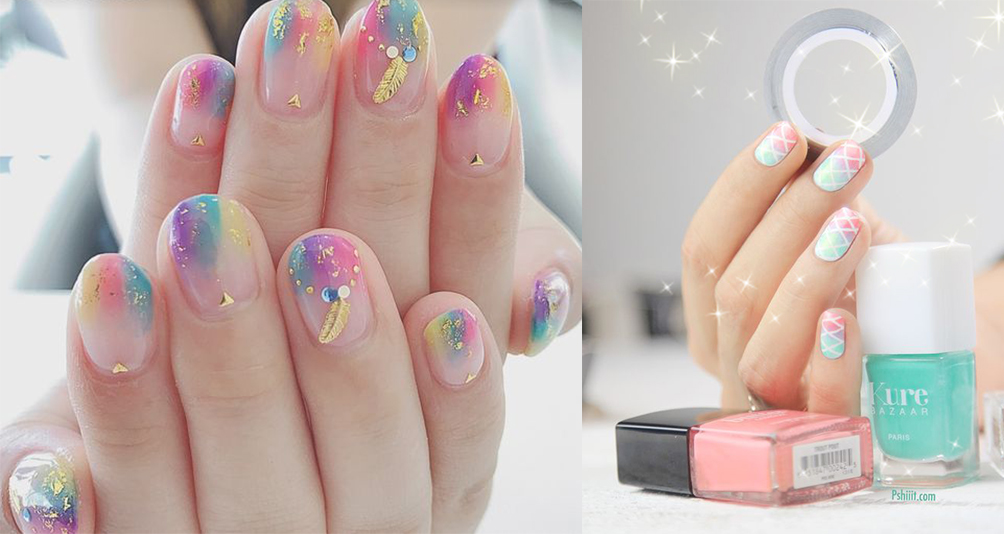 9 Dreamy Colourful Nail Ideas To Colour Your Soul!