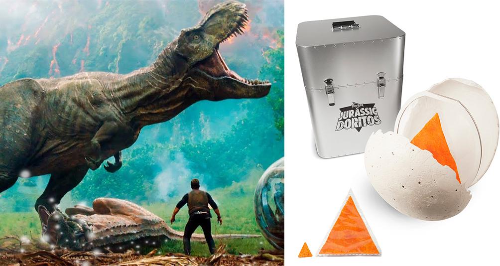 Giant Jurassic Dorito Chip Current Bid: More Than $1000 USD