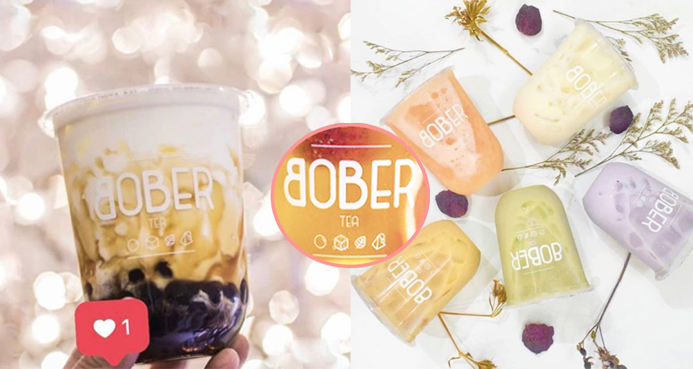 BOBER TEA: The Latest Artisan Tea In Town Now Available In Bishan!