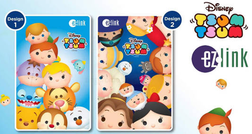 Ez-link Welcomes The New Disney Princess Tsum Tsums To Its Card Collection!