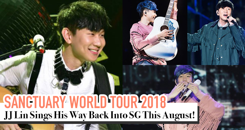 JJ Lin To Bring His Sanctuary World Tour To Singapore On August 18 And 19!