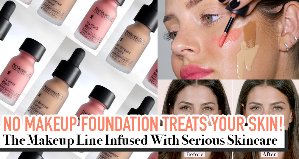 Skincare & Makeup in ONE! Perricone MD's No Makeup Makeup