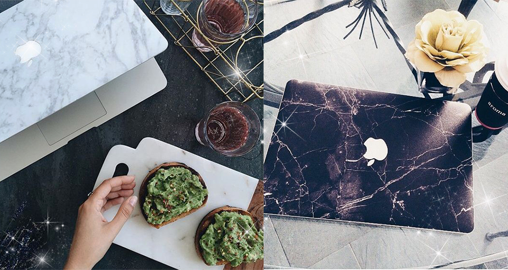 Here Are 12 Creative & MARBLElous Decals For Macbook Users!
